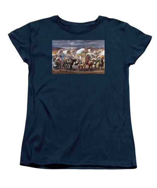 The Trail Of Tears Women's T-Shirt (Standard Cut) by Granger
