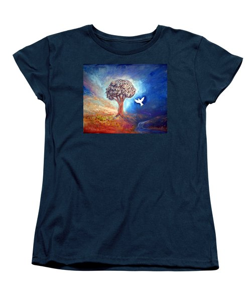 The Tree Women's T-Shirt (Standard Cut) by Winsome Gunning