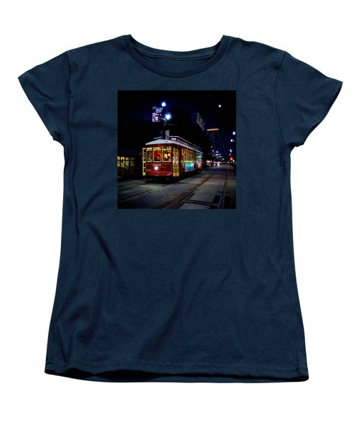 Women's T-Shirt (Standard Cut) featuring the photograph The Trolley by Evgeny Vasenev