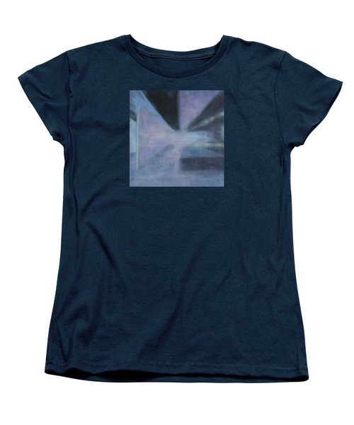 Women's T-Shirt (Standard Cut) featuring the painting The Ultimate Art Is How To Be A Human by Min Zou