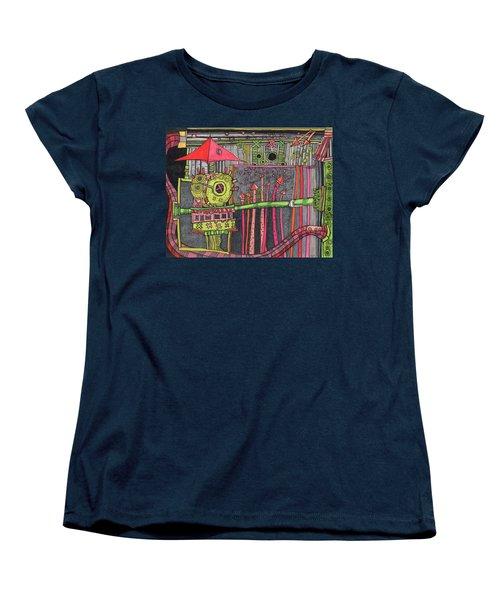 The Umbrella Roof Women's T-Shirt (Standard Cut) by Sandra Church
