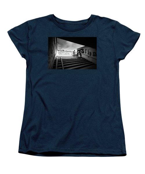 The Underpass Women's T-Shirt (Standard Cut) by John Williams