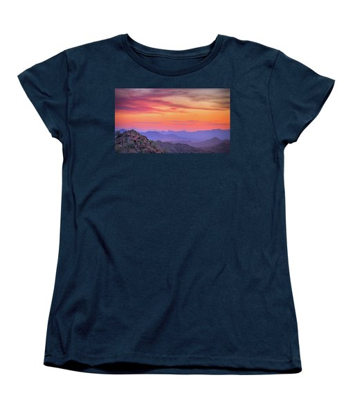 The View From Above Women's T-Shirt (Standard Cut) by Anthony Citro