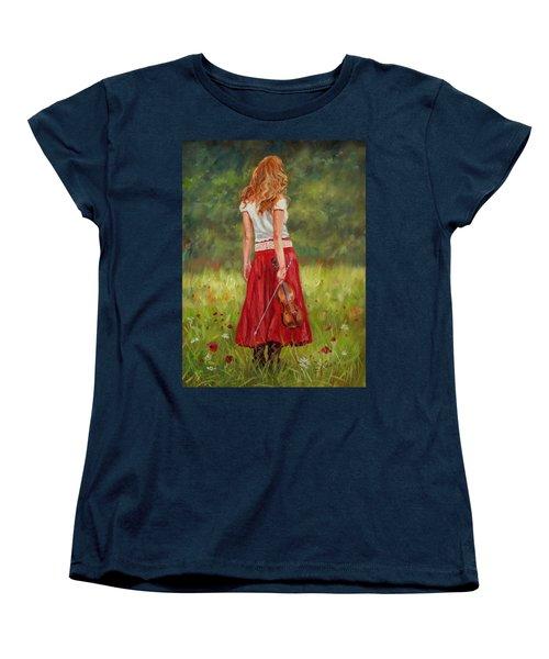 The Violinist Women's T-Shirt (Standard Cut)