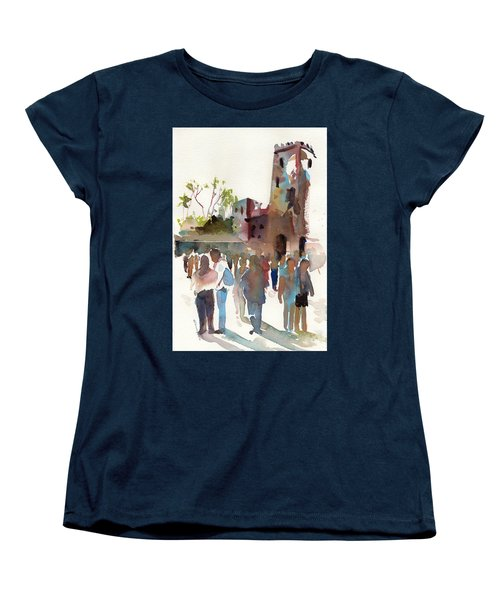 The Visitors Women's T-Shirt (Standard Cut) by P Anthony Visco