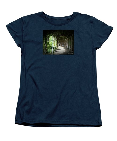 The Walkway Women's T-Shirt (Standard Cut) by Lisa L Silva