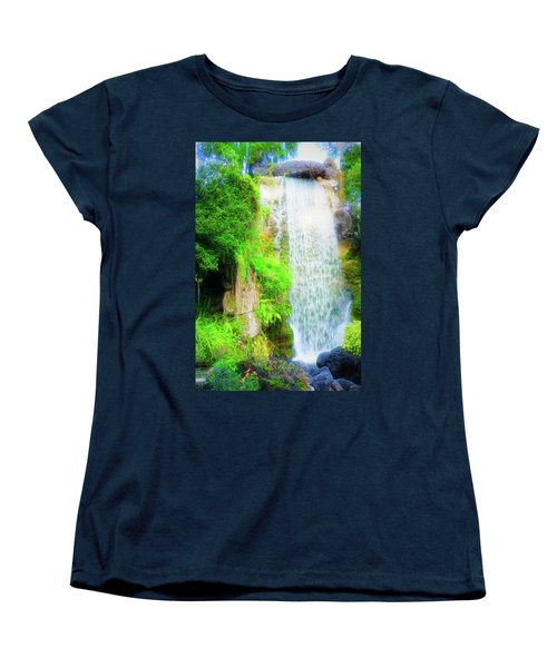The Water Falls Women's T-Shirt (Standard Cut)