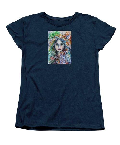 Wealth Of Winter Women's T-Shirt (Standard Cut) by Rita Fetisov