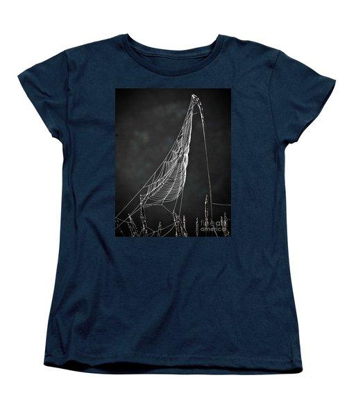 The Web Women's T-Shirt (Standard Cut) by Tom Cameron