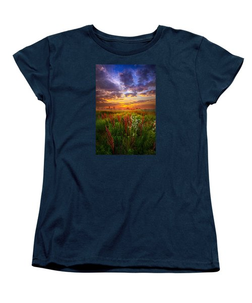 The Whispered Voice Within Women's T-Shirt (Standard Cut) by Phil Koch