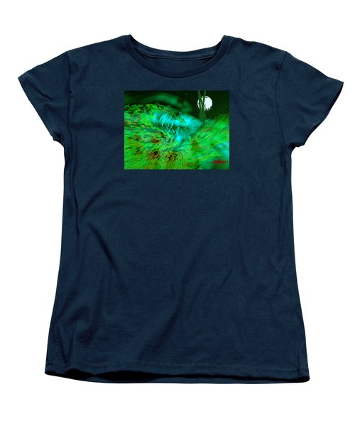 Women's T-Shirt (Standard Cut) featuring the digital art The Winged Terror Of Titicaca by Seth Weaver
