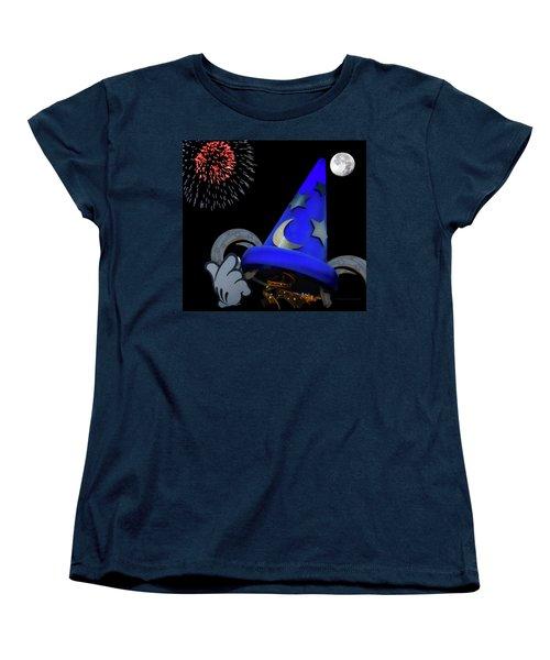 The Wizard Walt Disney World Mp Women's T-Shirt (Standard Cut) by Thomas Woolworth