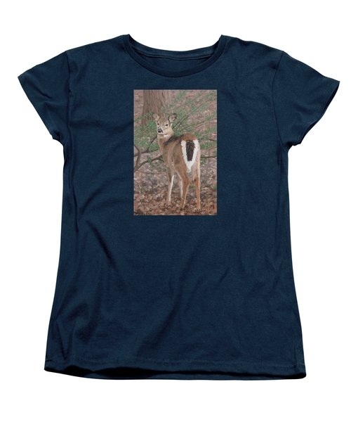 The Yearling Women's T-Shirt (Standard Cut) by Sandra Chase