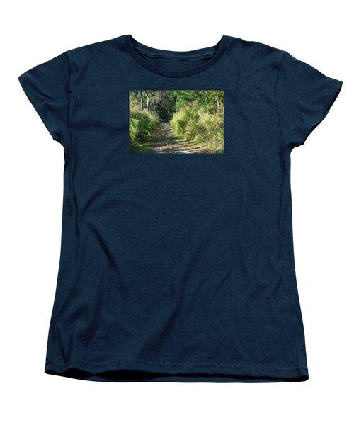 The Yellow Trail Women's T-Shirt (Standard Cut) by Kenneth Albin