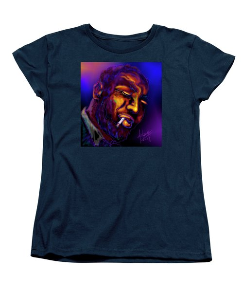 Thelonious My Old Friend Women's T-Shirt (Standard Cut) by DC Langer