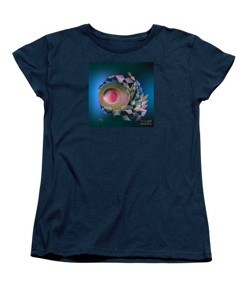 Women's T-Shirt (Standard Cut) featuring the digital art Theory Of Joke by Leo Symon