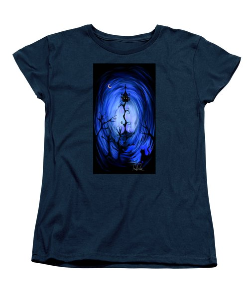 There's A Light Women's T-Shirt (Standard Cut) by Alessandro Della Pietra