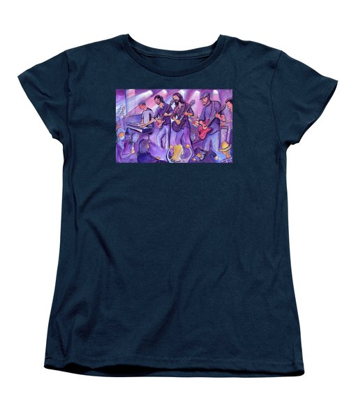 Thin Air At The Barkley Ballroom In Frisco, Colorado Women's T-Shirt (Standard Cut) by David Sockrider