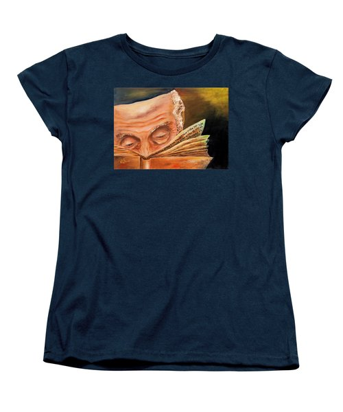 This Book Of The Law Shall Not Depart Out Of Thy Mouth Women's T-Shirt (Standard Cut) by Itzhak Richter