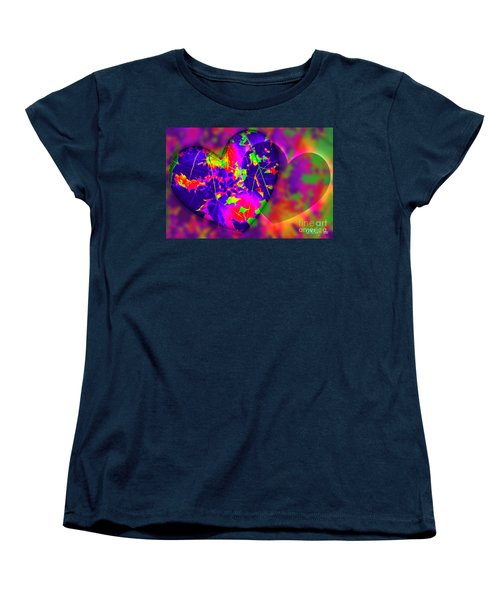 This Hearts For You Women's T-Shirt (Standard Cut) by Donna Bentley