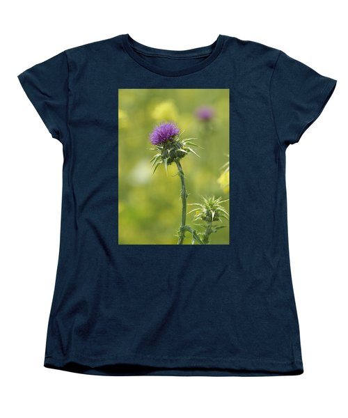 Thistle And Mustard Women's T-Shirt (Standard Cut) by Doug Herr