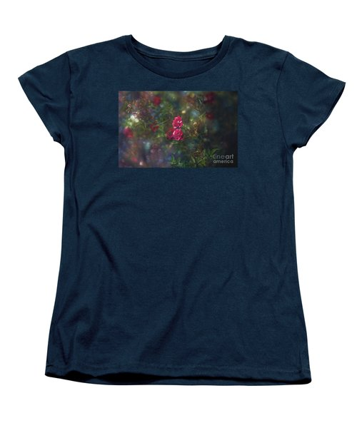 Thorns And Roses II Women's T-Shirt (Standard Cut) by Agnieszka Mlicka