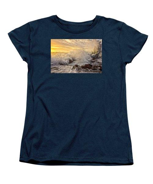 Thor's Wave Women's T-Shirt (Standard Cut) by Billie-Jo Miller