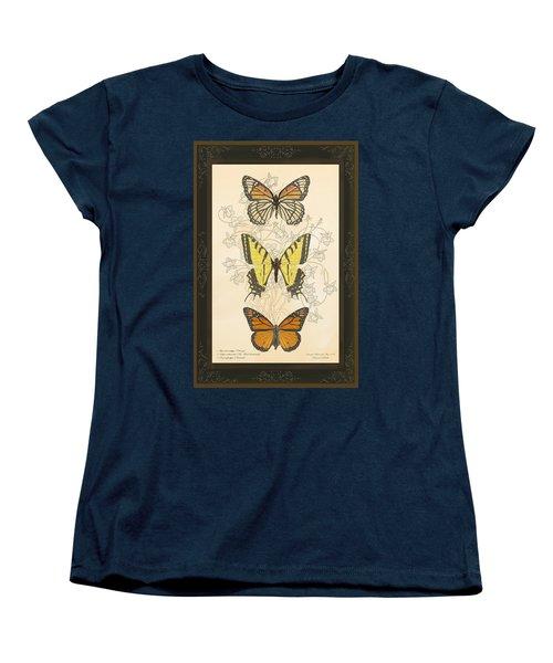 Three Butterflies Women's T-Shirt (Standard Cut)