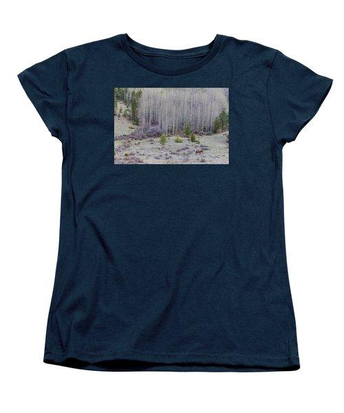 Three Horses Women's T-Shirt (Standard Cut) by James BO Insogna