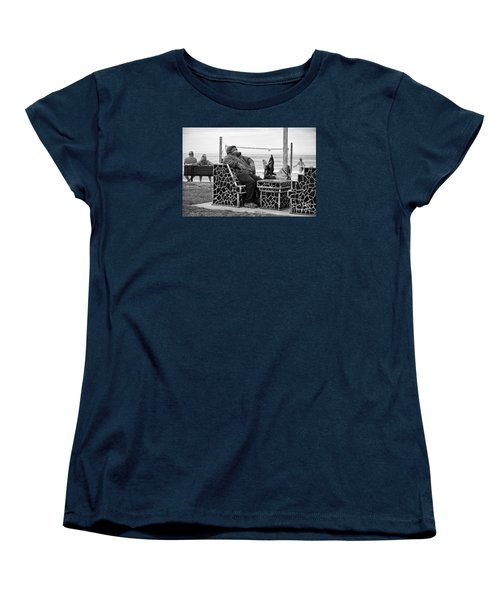 Women's T-Shirt (Standard Cut) featuring the photograph Three Laguna Lifestyles by Vinnie Oakes