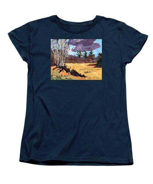 Three Women's T-Shirt (Standard Cut) by Phil Chadwick