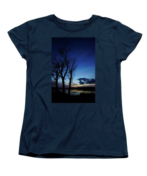 Women's T-Shirt (Standard Cut) featuring the photograph Three Sisters by Cricket Hackmann