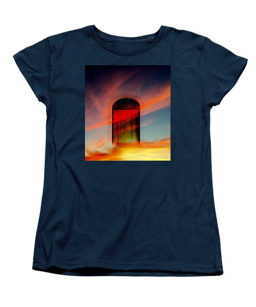 Through The Door Women's T-Shirt (Standard Cut) by Katy Breen