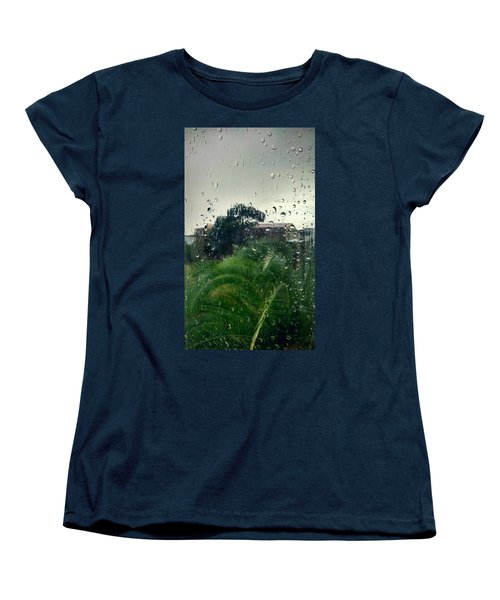 Women's T-Shirt (Standard Cut) featuring the photograph Through The Looking Glass by Persephone Artworks