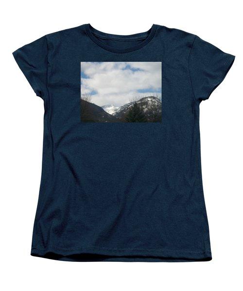 Through The Pass Women's T-Shirt (Standard Cut) by Jewel Hengen