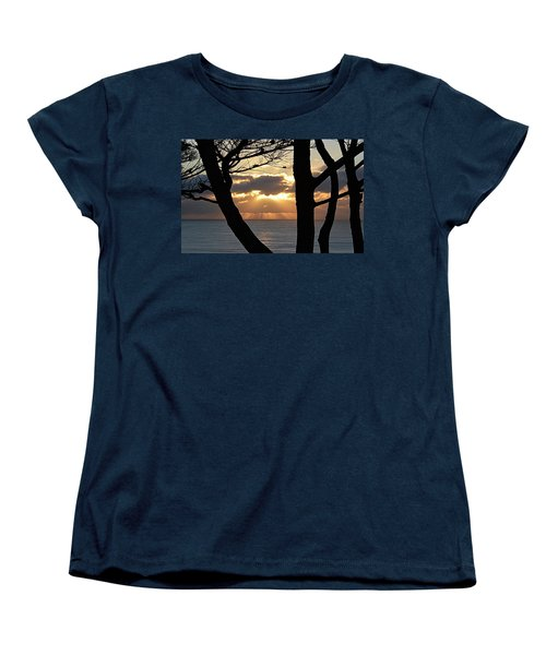 Through The Trees Women's T-Shirt (Standard Cut) by AJ Schibig