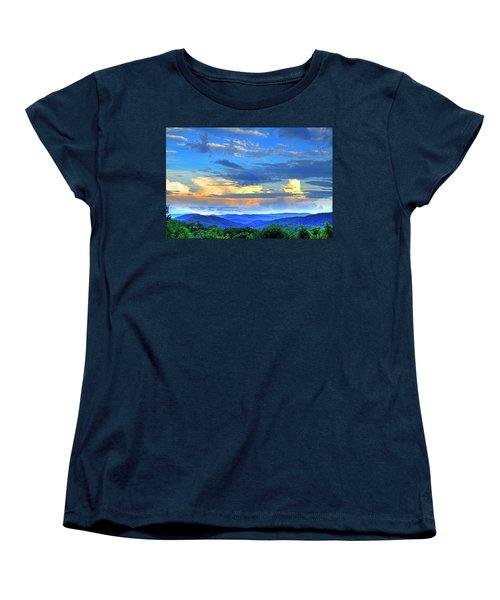 Thunderheads Women's T-Shirt (Standard Cut) by Dale R Carlson
