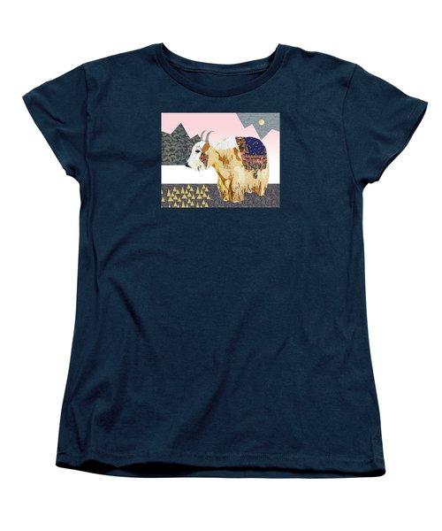 Tibet Yak Collage Women's T-Shirt (Standard Cut)