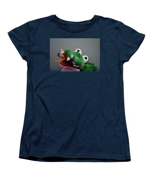 Tick Tock Crock Women's T-Shirt (Standard Cut)