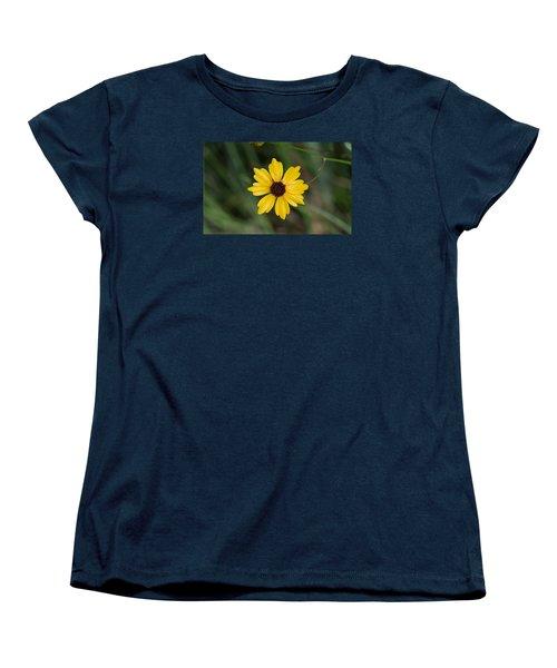 Tickseed Flower Women's T-Shirt (Standard Cut) by Kenneth Albin