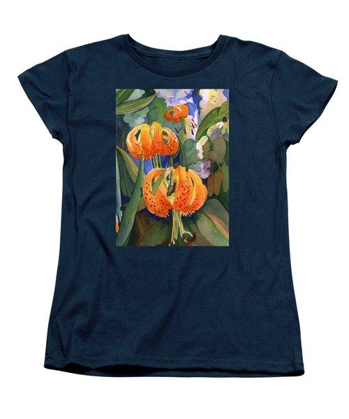 Tiger Lily Parachutes Women's T-Shirt (Standard Cut)