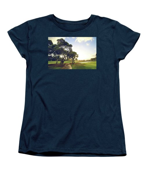 Women's T-Shirt (Standard Cut) featuring the photograph 'til I'm In Your Arms Again by Laurie Search