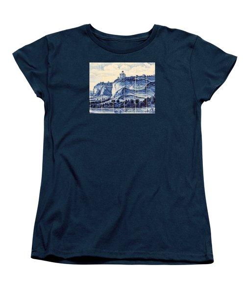 Tile Art Of African History Women's T-Shirt (Standard Cut) by John Potts