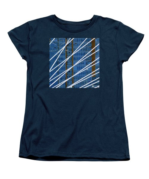 Tilikum Bridge Women's T-Shirt (Standard Cut) by Jerry Sodorff