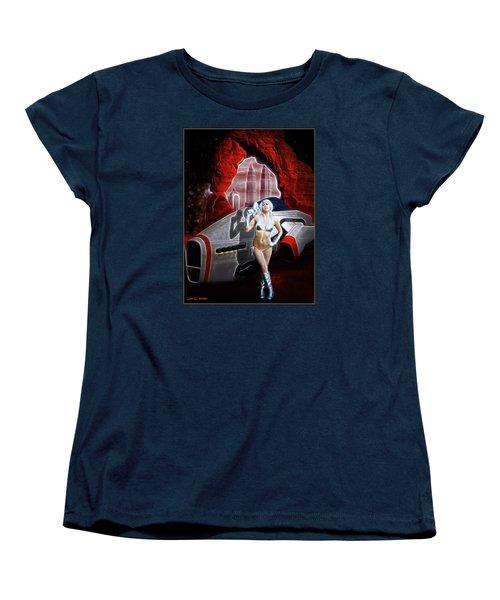 Time And Space Portal Women's T-Shirt (Standard Cut)