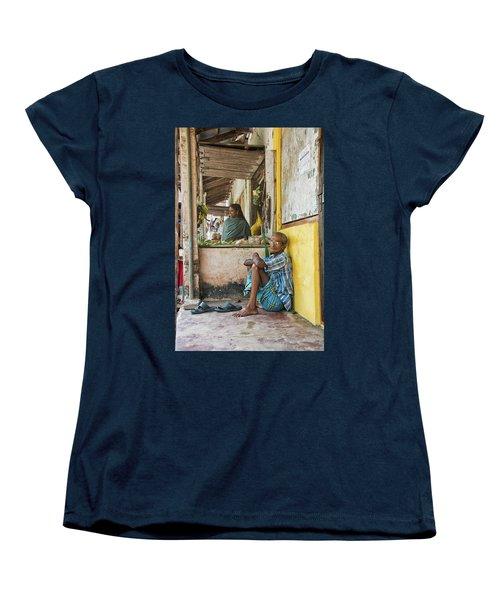 Kumarakom Women's T-Shirt (Standard Cut) by Marion Galt