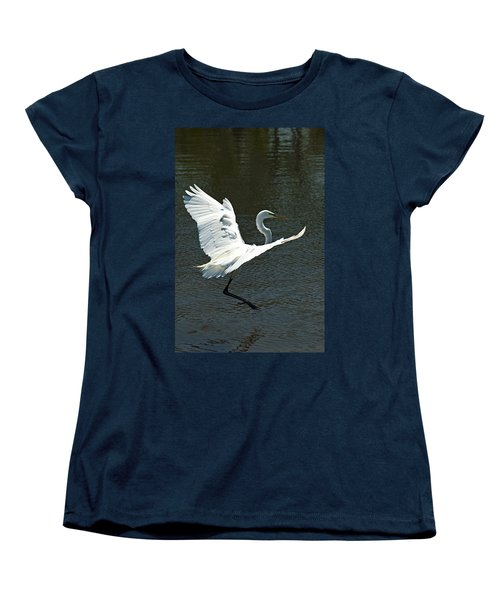Time To Land Women's T-Shirt (Standard Cut)