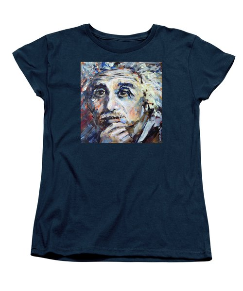 Time To Think Women's T-Shirt (Standard Cut) by Mary Schiros