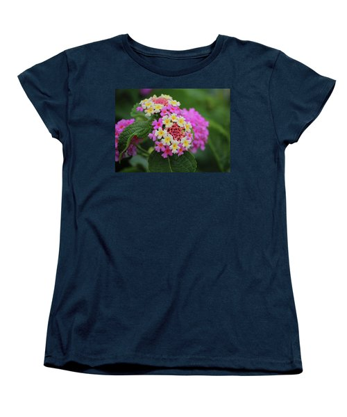 Women's T-Shirt (Standard Cut) featuring the photograph Tiny Bouquets by Rowana Ray