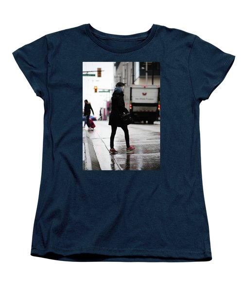 Women's T-Shirt (Standard Cut) featuring the photograph Tiny Umbrella  by Empty Wall